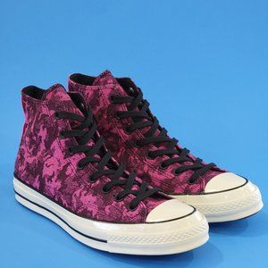 Converse Chuck 70 Pink Denim Sneaker Unisex NWT